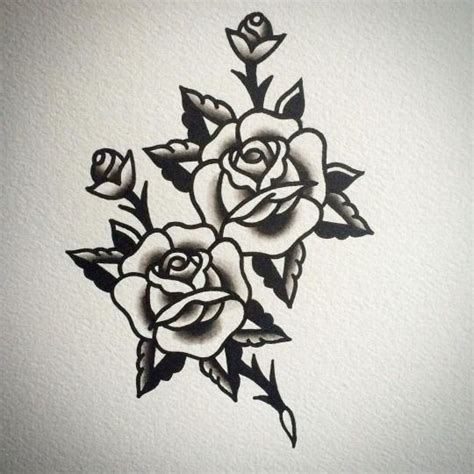 american traditional rose tattoos 1000 ideas about traditional back on