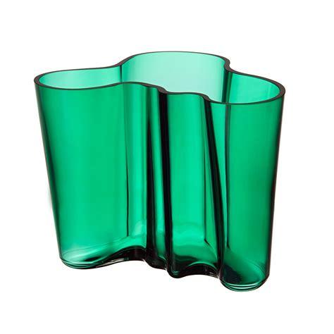 alvar aalto vas alvar aalto vase smaragd 16cm alvar aalto iittala