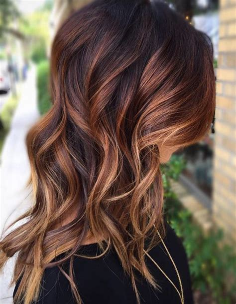 trendy haircuts ideas strawberry bronde balayage bob by kellymassiashair balayage cuivr 233 sur brune balayage cuivr 233 le reflet chaud 224 adopter cette saison