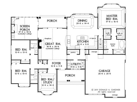 17 Best Ideas About One Story Houses On Pinterest One Small House Plans With Bonus Room Garage