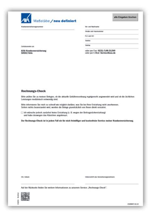 Anschreiben Muster Zahnarzt Leistungsabrechnung Gesundheitsservice360 176 Axa
