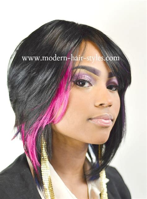 Black Women Hairstyles Streaks | black hair with pink highlights underneath wallpapers