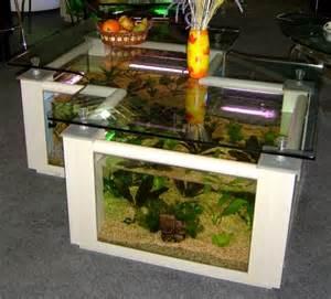 Ideas Diy coffee table fish tank ~ Bench