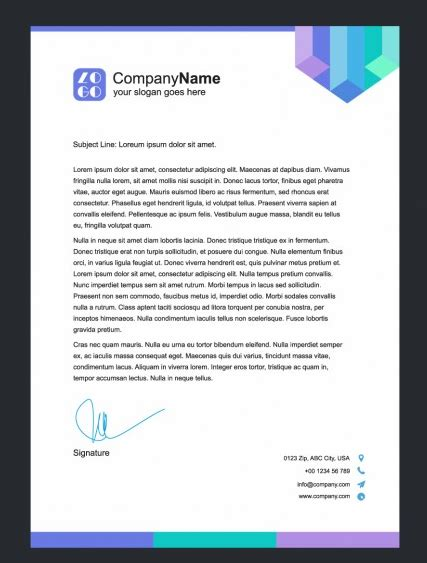 Company Letterhead Picture Pictures Printable Template Calendar 2018 Designing Coherent Template