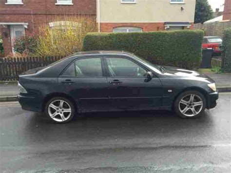 Lexus Is200 2001 Y Reg Black Car For Sale