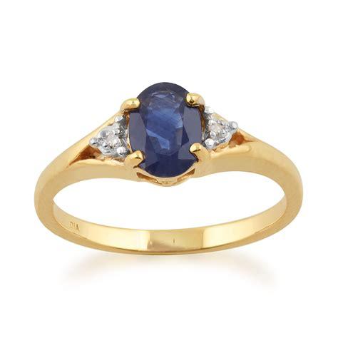 Yellow Sapphire 5 85 Ct Memo 9ct yellow gold 1 00ct kanchanaburi sapphire