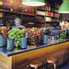 Green And Yellow Juice Bar Detox by Cool Small Cafes Search Wine Bars