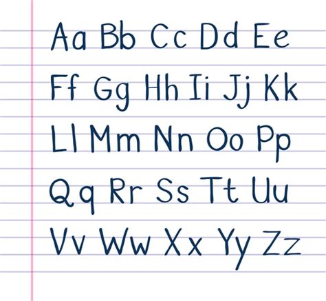printable letters ofthe alphabet upper and lower case use capital letters 1 worksheet from edplace