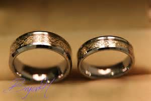 wedding bands tungsten wedding bands set matching size tungsten wedding