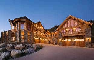 Montana House by Montana Log Homes Flathead Guide