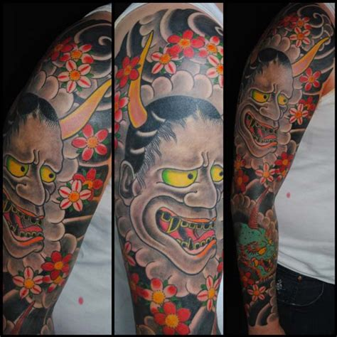 oriental tattoo sydney japanese hannya oni sleeve sydney tattoo miles better