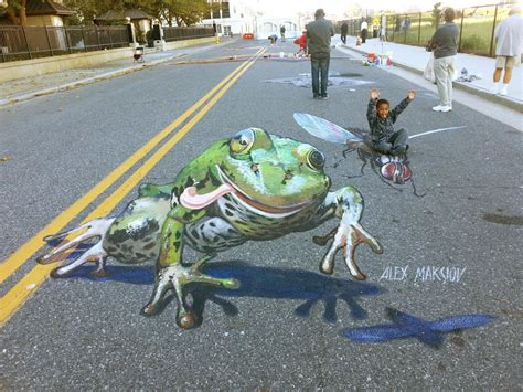 Painting A Mural On A Wall With Acrylic Paint how to do 3d street painting or 3d street painting for