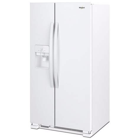 Water Dispenser Refrigerator wrs325sdhwwhirlpool 36 quot 25 cu ft side by side
