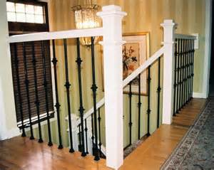 iron balusters stair rail design