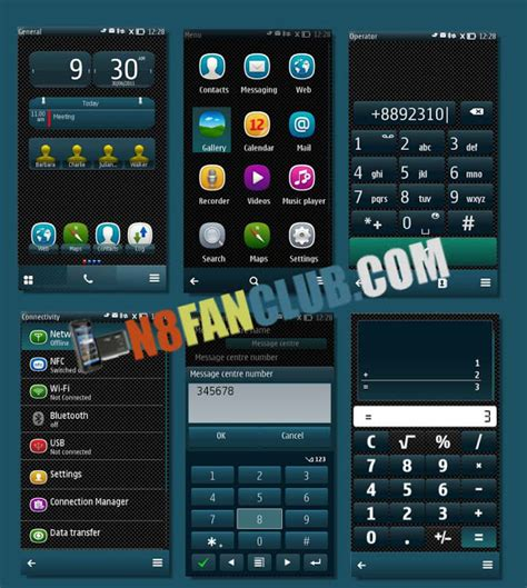 themes hd for nokia n8 nokia n8 themes black belle theme nokia n8 symbian belle