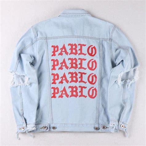 Pablo Denim Jacket jacket pablo denim ripped vintage tlop of pablo