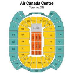 seating map air canada centre air canada centre concert seating chart air canada centre