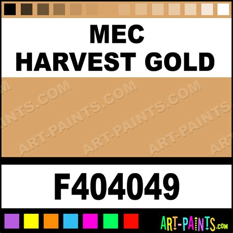 mec harvest gold model metal paints and metallic paints f404049 mec harvest gold paint mec