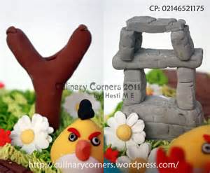 Pialatrophy Figur Burung 1 Set birthday cake buttercream dan fondant culinary corners