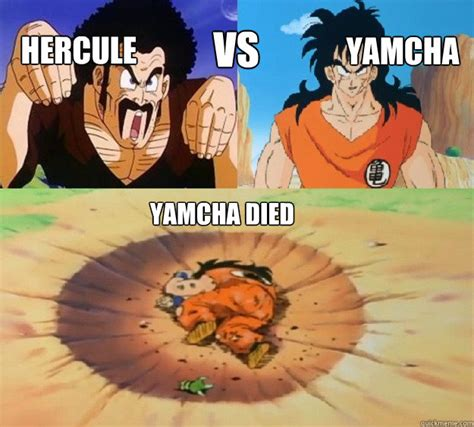 Yamcha Meme - raditz nappa vs yamcha battles comic vine