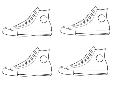 Pete The Cat Shoe Template by Pete The Cat Project
