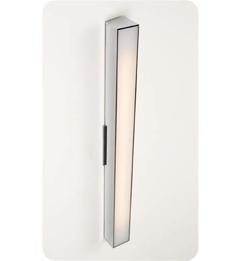 Linear Wall Sconce ayre axis24 a ma axis 24 quot linear ada wall sconce light with matte opal acrylic diffuser