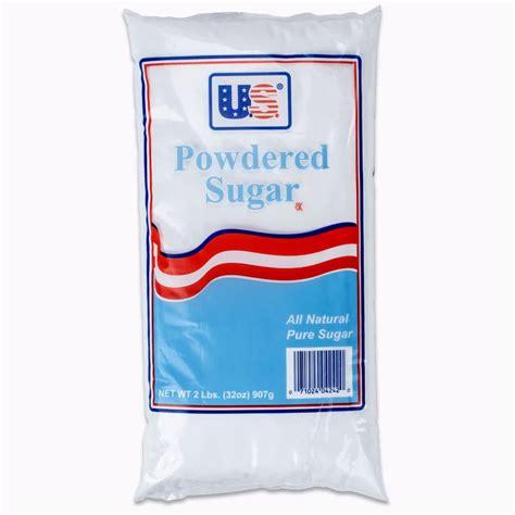 2 lb bag 10x confectioners sugar