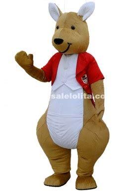 kangaroo cartoon character costumes gentleman kangaroo