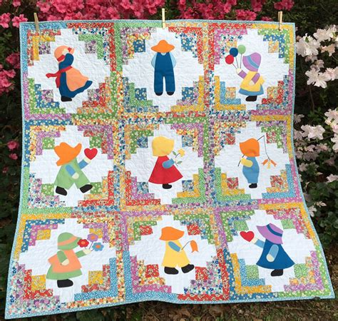 quilt pattern sunbonnet sue debby kratovil quilts sunbonnet sue and overall sam