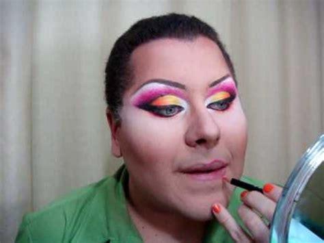 tutorial make up viva quen drag queen make up tutorial parte 4 youtube