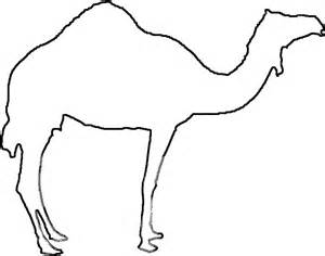 Camel Template camels craft children s bible school lessons