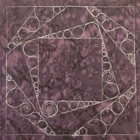 free motion quilting swirls and circles quilt addicts the free motion quilting project 34 quilt circles in a