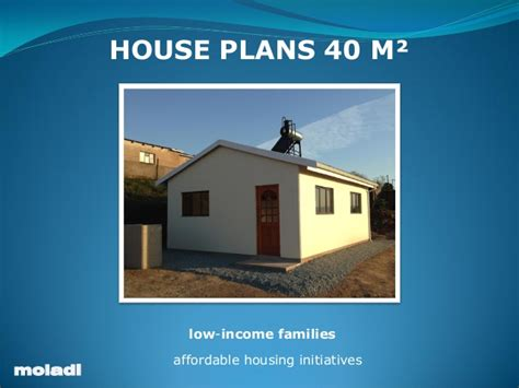 Affordable Housing Plans And Design by Moladi Low Cost Housing