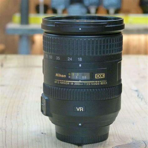 Nikon Af S Dx Vr Ii Lens 18 55mm F used nikon af s 18 200mm f3 5 5 6g vr ii dx lens