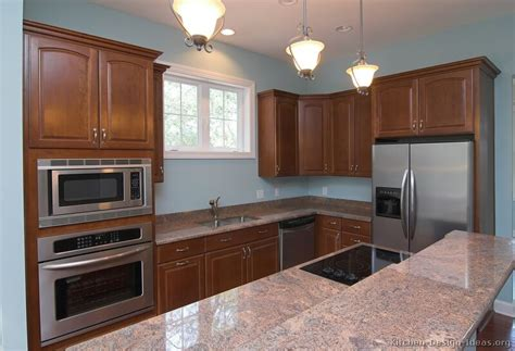Granite Countertop Colors For Cherry Cabinets by Most Popular Granite Countertop Colors 2013