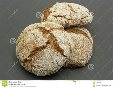 home made wholemeal vinschgauer buns royalty free stock