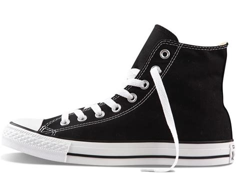 Original Converse Clasic Black White original converse all shoes s sneakers canvas shoes all black high classic