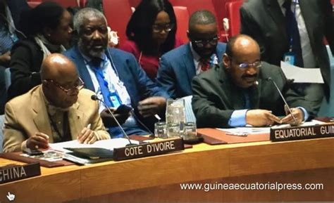 Anatolio Ndong Mba Protagoniza La Celebración De Guinea Ecuatorial by Intervenci 243 N De Anatolio Ndong Mba En La Onu Sobre La