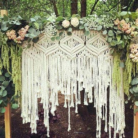 macrame wedding 15 macrame wedding backdrop ideas worth a try diy