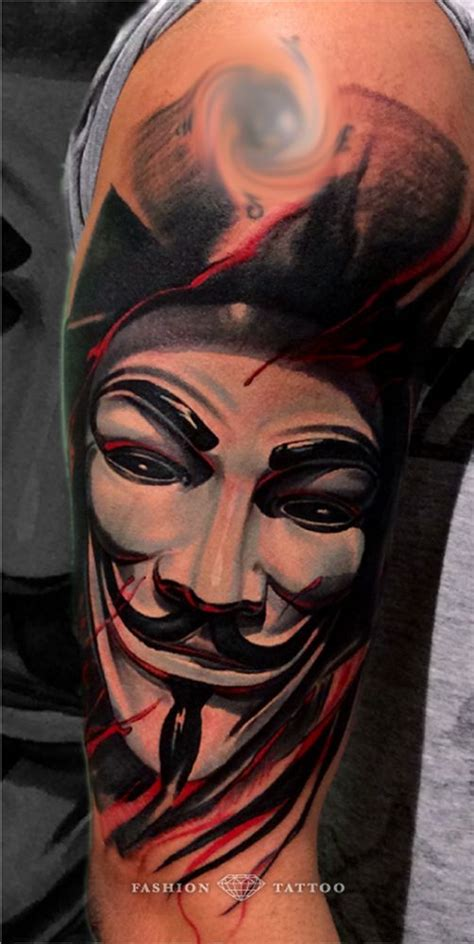 anonymous mask tattoo anonymous mask www pixshark images