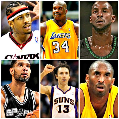 best players in the nba 2000s the best nba players by decade by position