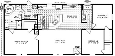 large home floor plans floor plans for mobile homes luxury large manufactured