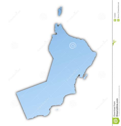 oman map vector oman map stock images image 7129084