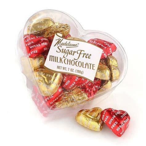 sugar free valentines sugar free milk chocolate hearts 7 oz