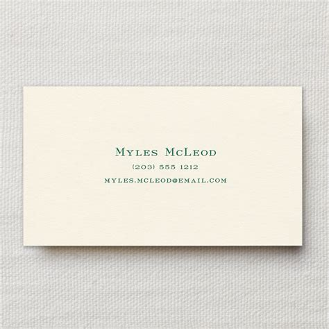 calling business cards ecru calling card business and calling cards crane