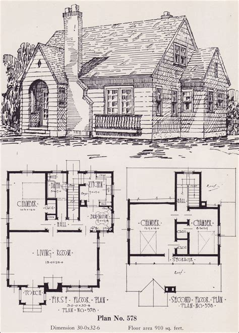 vintage farmhouse plans charming cottage with fireplace plans for 00 square foot