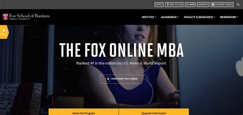 Fox Business School Mba Ranking by Us News Removes Temple Mba Ranking Metromba