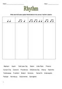 music theory rhythm worksheets elementary music