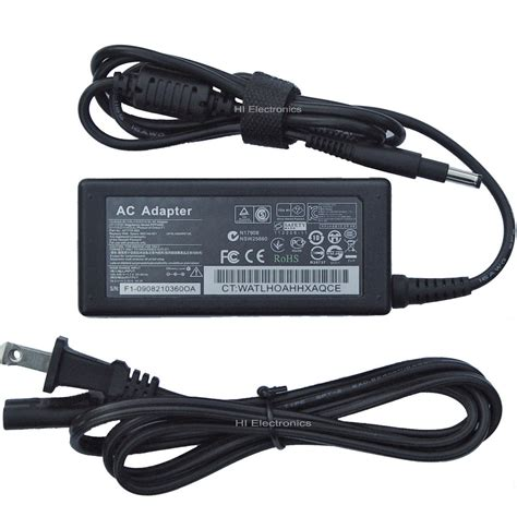 Charger Hp 4 ac adapter battery charger for hp envy touchsmart sleekbook 4 1105dx 4 1115dx ebay