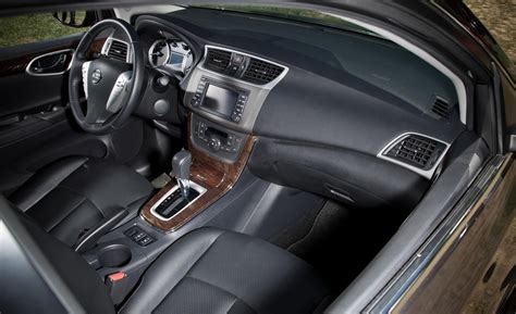 2013 Nissan Sentra Interior car and driver